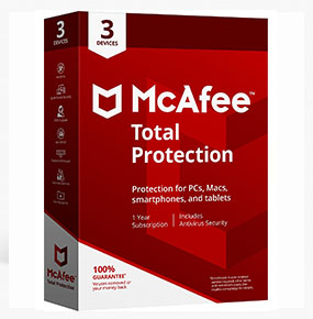 McAfee Total Protection - 5 Devices - 1 Year - Key Code